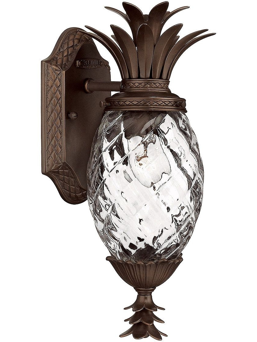 Favorite Recipes Inside Outdoor Pineapple Lanterns (View 2 of 20)