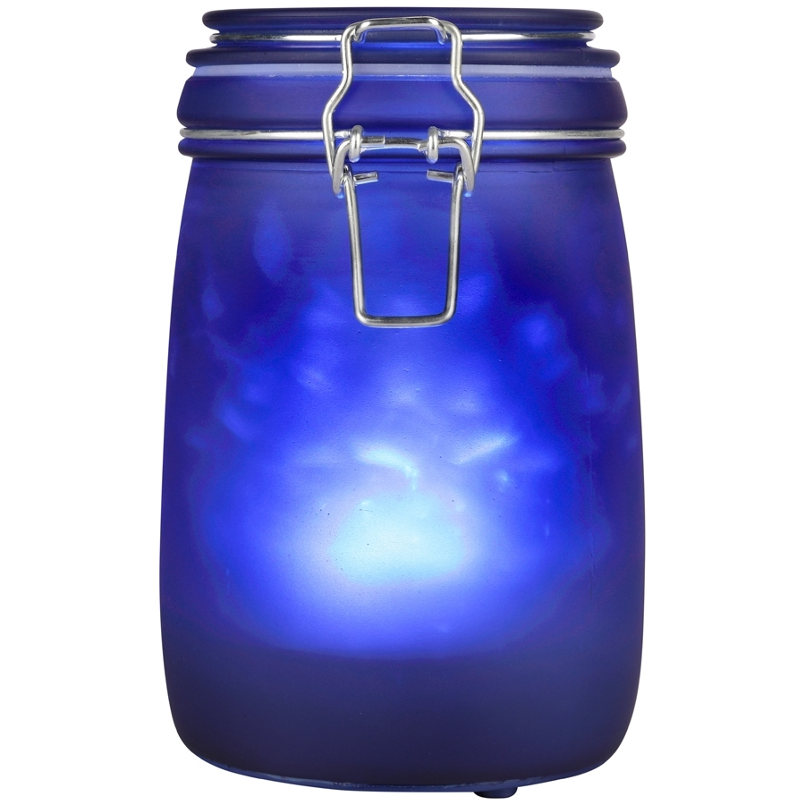 Favorite Shop Outdoor Decorative Lanterns At Lowes Pertaining To Blue Outdoor Lanterns (View 3 of 20)