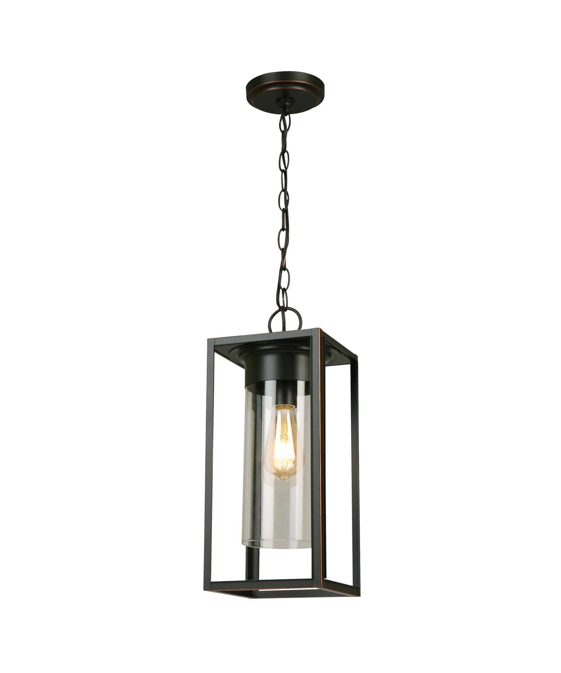 Favorite Walker Hill 7 1 Light Outdoor Outdoor Hanging Lantern In Oil Rubbed Intended For Outdoor Hanging Oil Lanterns (View 11 of 20)