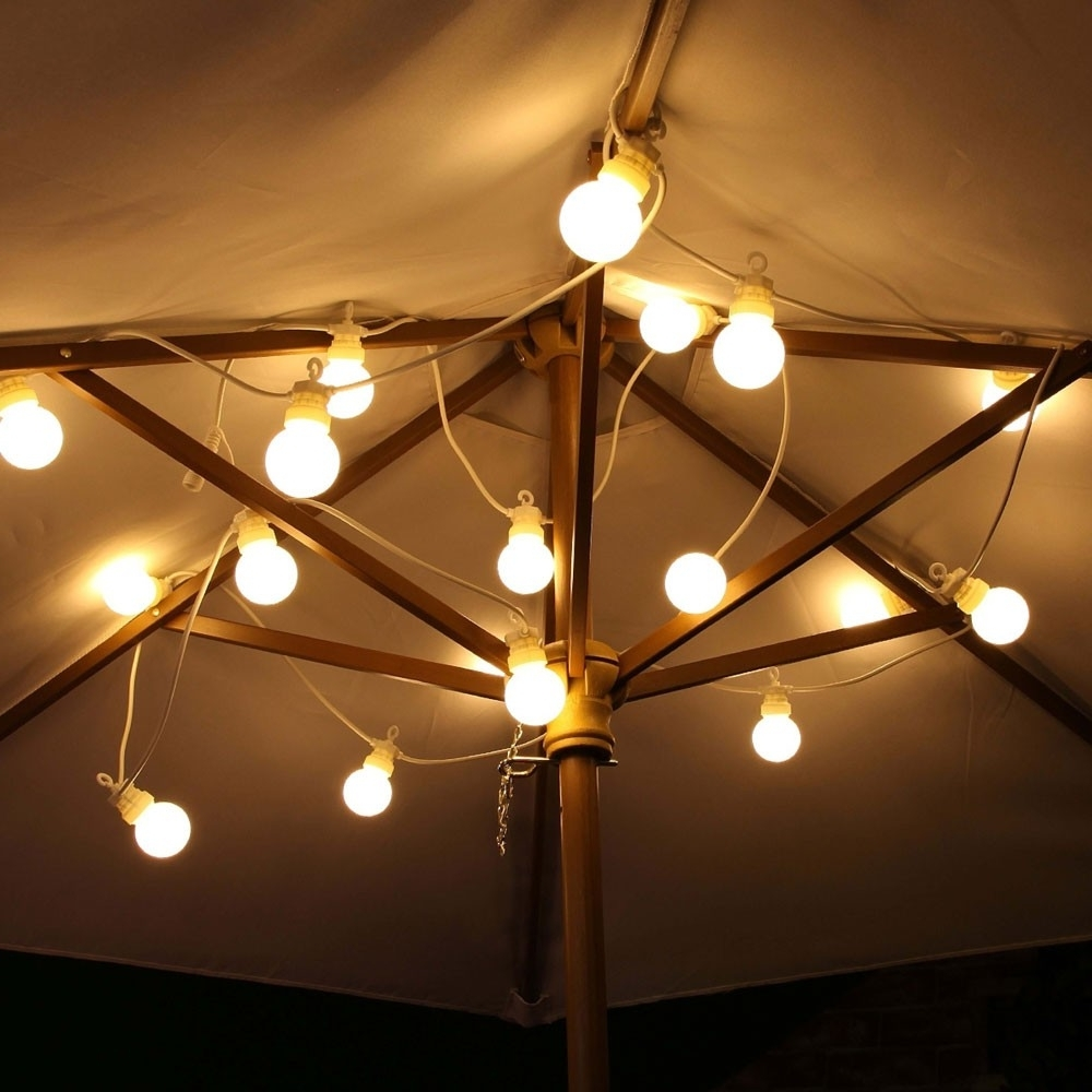 Festoon Lights Outdoor Connectable Warm White Regarding Best And Newest Outdoor Mains Lanterns (View 14 of 20)