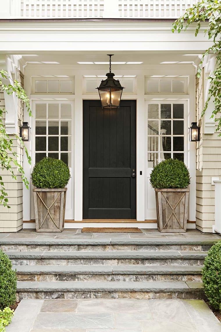 Front Door Lighting Tips – Kristywicks Inside Newest Outdoor Lanterns For Front Door (View 8 of 20)