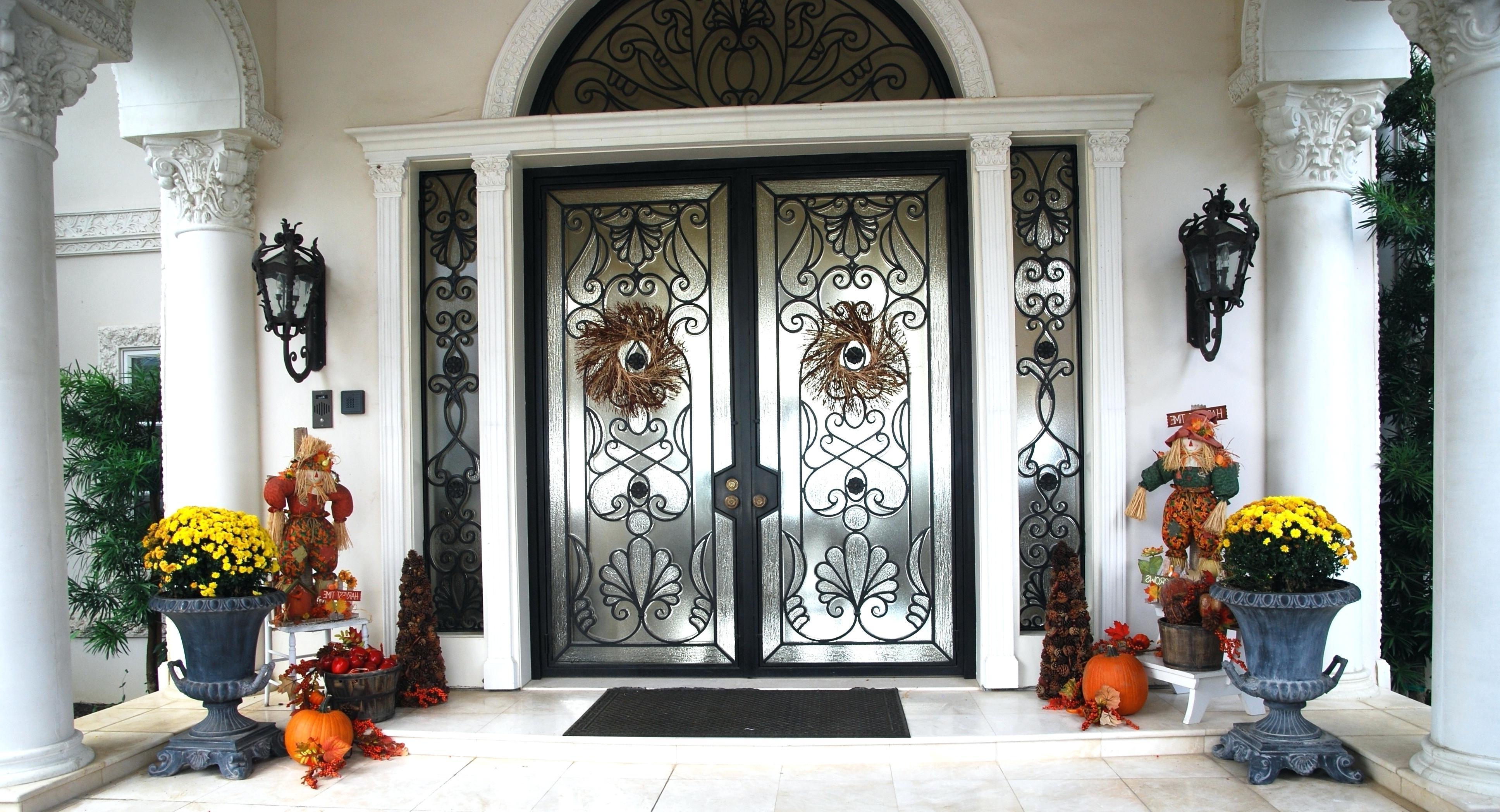 Front Doors: Winsome Front Door Lantern Pictures. Home Door (View 5 of 20)