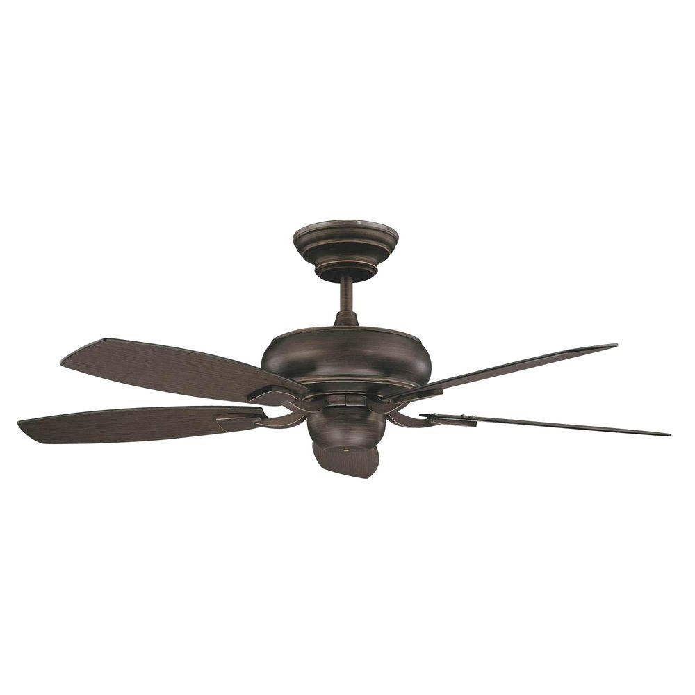 Galvanized Outdoor Ceiling Fans With Light Regarding 2019 Concord Fans Roosevelt Series 52 In. Indoor Oil Rubbed Bronze (Gallery 5 of 20)