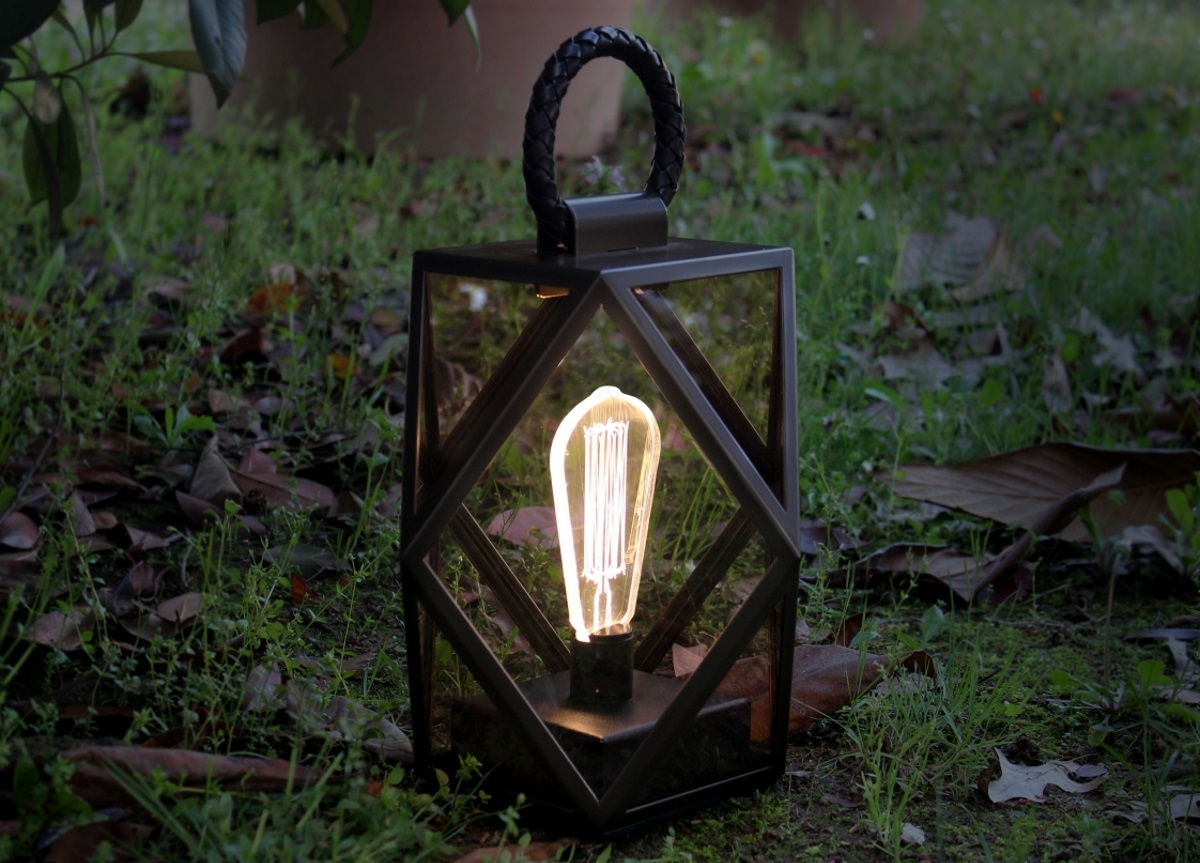 Garden Lighting Throughout Newest Outdoor Lanterns With Battery Operated (View 7 of 20)