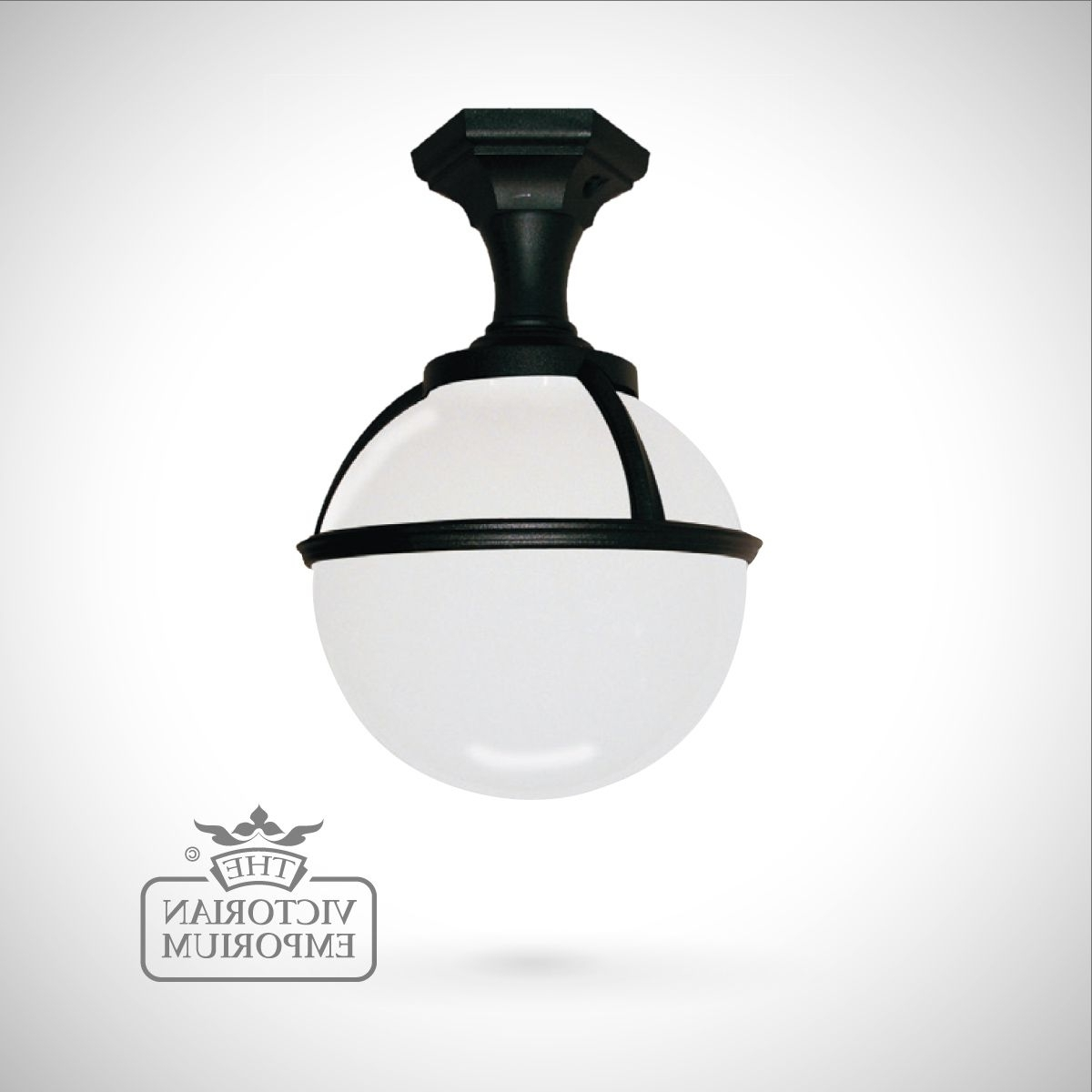 Globe Pedestal/porch Lantern (Gallery 16 of 20)