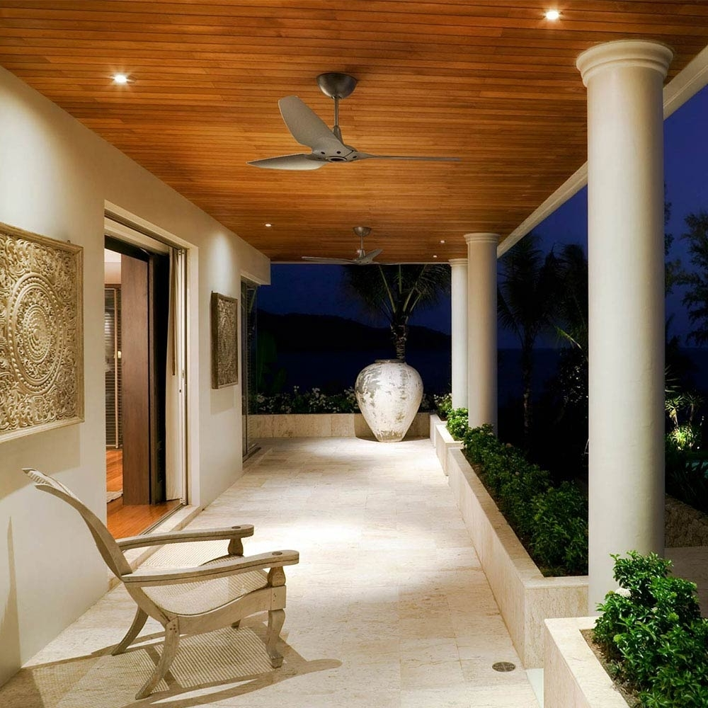 Haikubig Ass Fans Pertaining To Outdoor Ceiling Fans For Porches (Gallery 1 of 20)