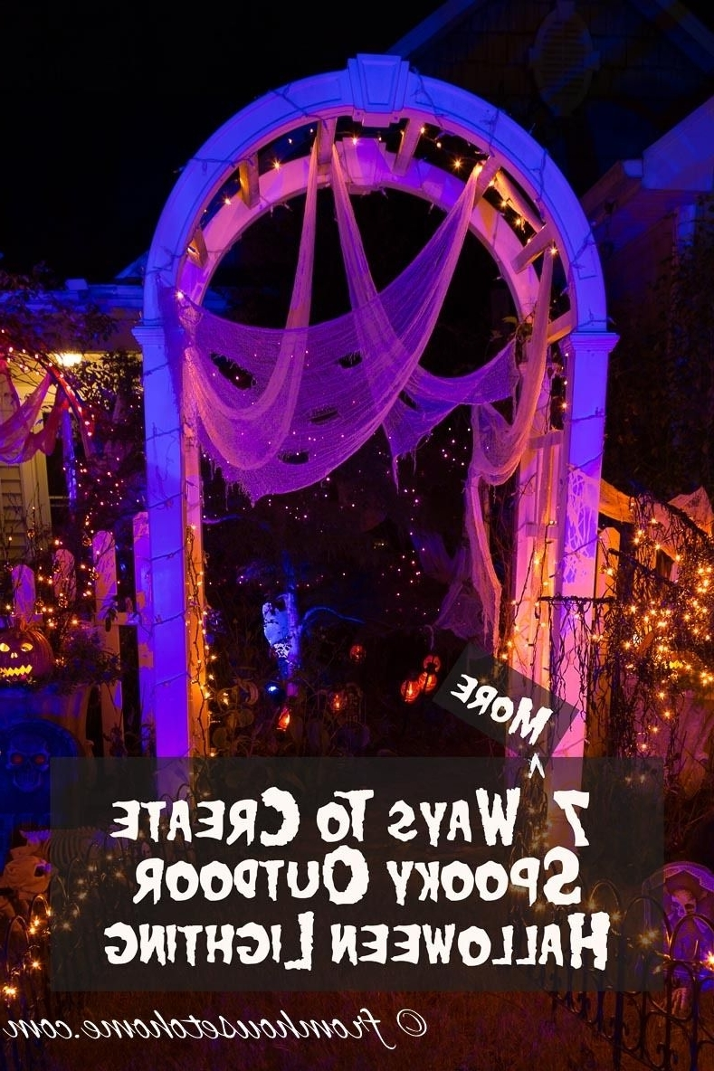 Halloween Outdoor Lighting: 7 Spooky Ways To Light Your Yard In Latest Outdoor Halloween Lanterns (Gallery 3 of 20)