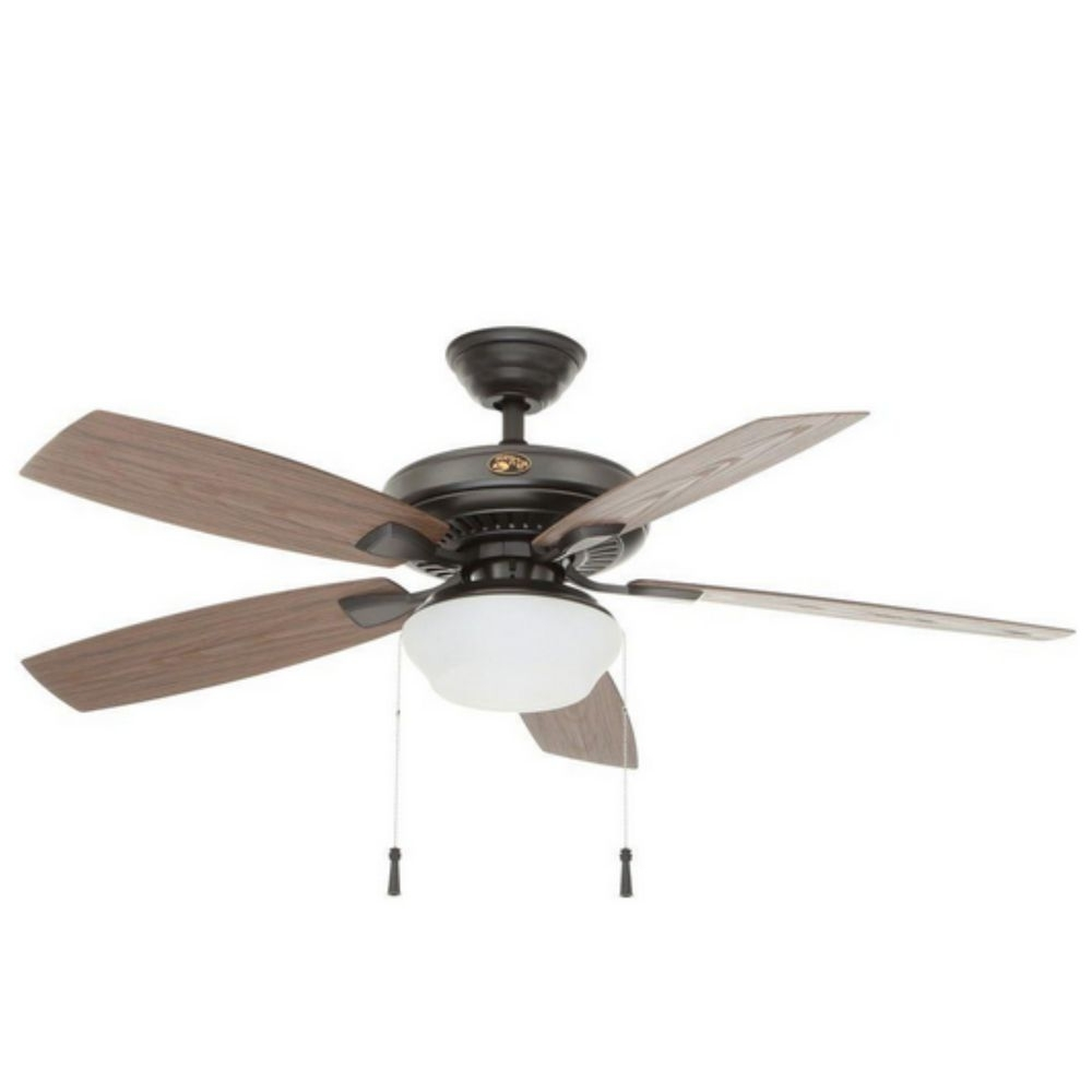 Hampton Bay Indoor Outdoor Electric Ceiling Fan Light, Electric Intended For Widely Used Outdoor Electric Ceiling Fans (View 8 of 20)