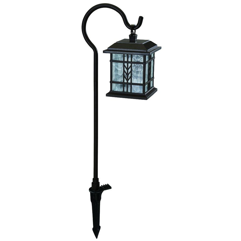 Hampton Bay Low Voltage Bronze Outdoor Integrated Led Landscape Within Fashionable Outdoor Low Voltage Lanterns (View 2 of 20)