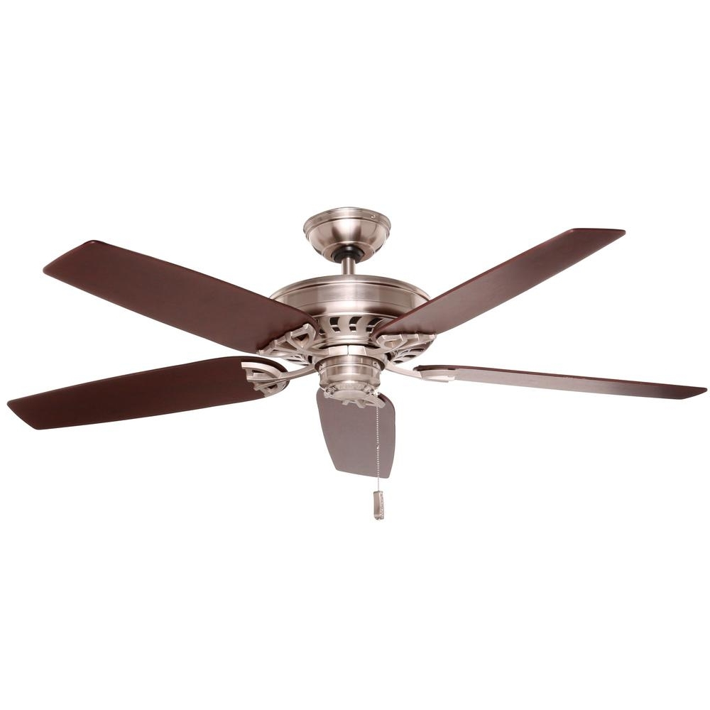 Hampton Bay Metro 54 In Rustic Copper Indoor/outdoor Ceiling Fan Within Widely Used Copper Outdoor Ceiling Fans (View 11 of 20)