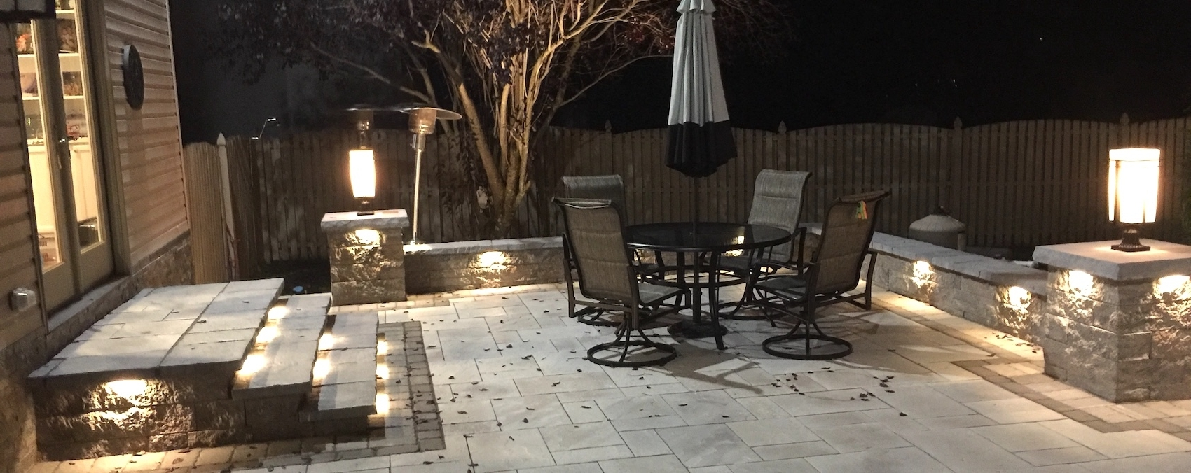 Hardscape Lighting For Patios, Pools For Outdoor Low Voltage Lanterns (View 8 of 20)