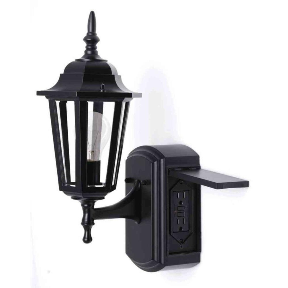 Hawk Haven Inside Widely Used Plug In Outdoor Lanterns (View 9 of 20)
