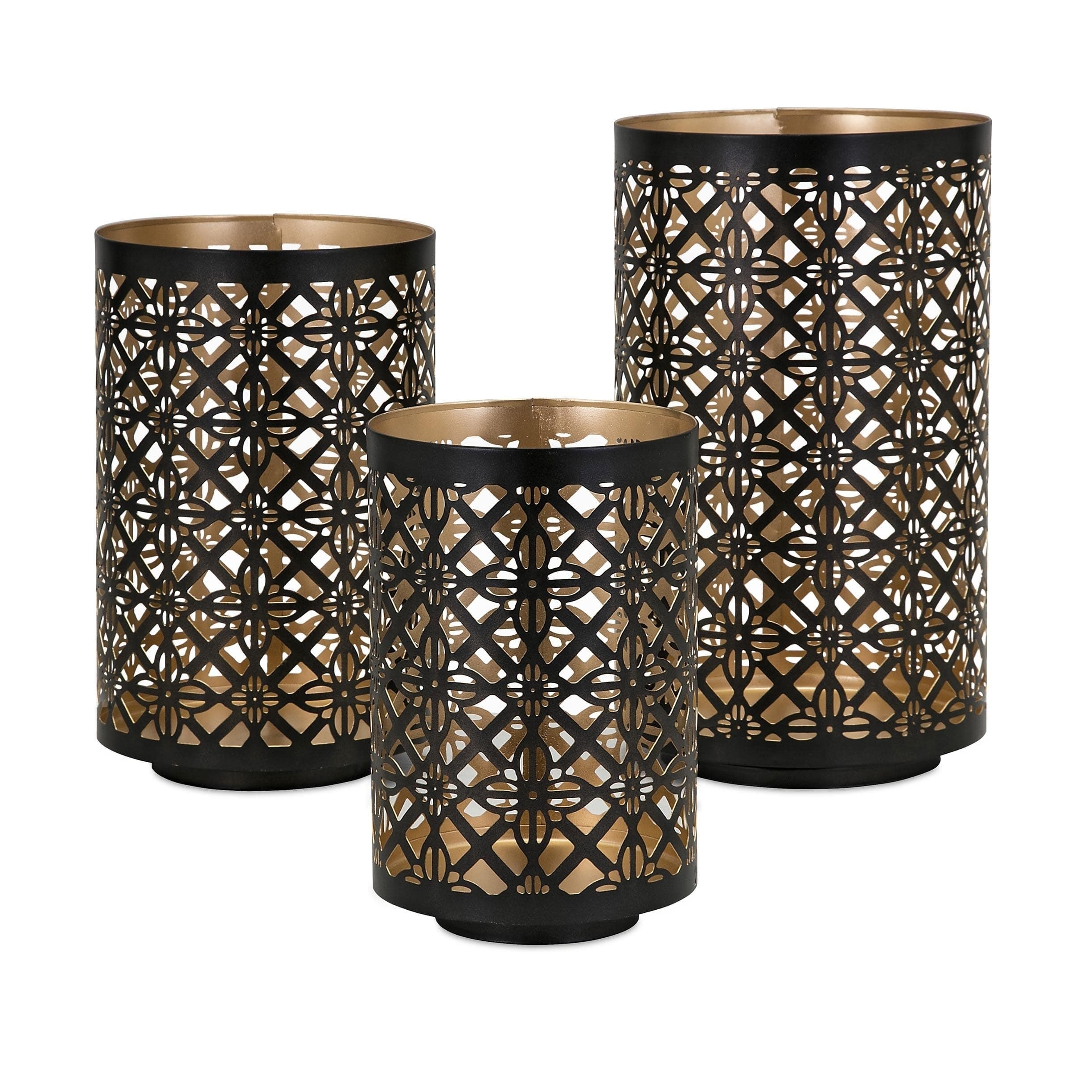 Helena Pierced Outdoor Lanterns (Set Of 3) – Free Shipping Today With Regard To Trendy Set Of 3 Outdoor Lanterns (View 6 of 20)