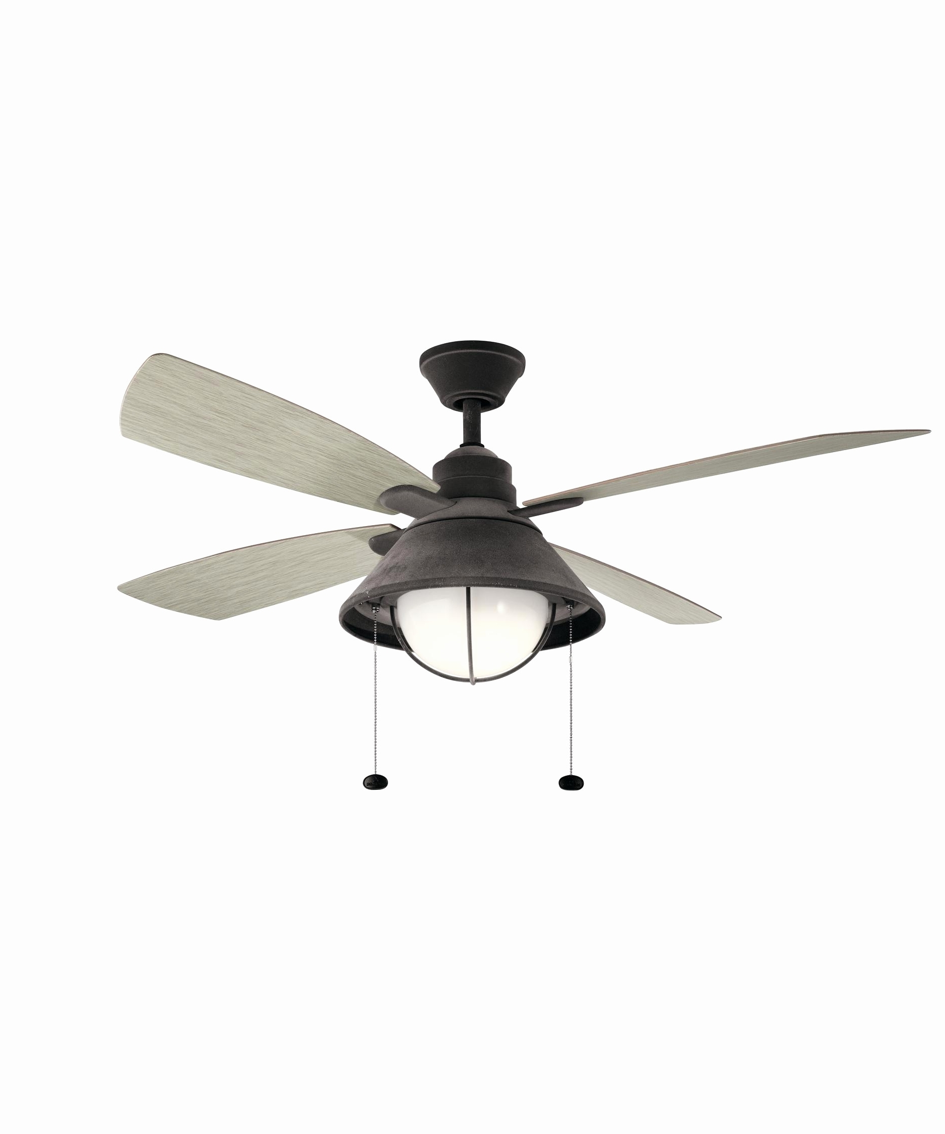 High Cfm Outdoor Ceiling Fan Inspirational Kichler Seaside 52 Inch 4 With Regard To 2019 Outdoor Ceiling Fans With High Cfm (Gallery 4 of 20)
