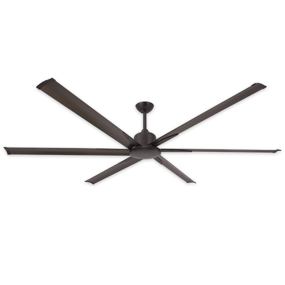 High Output Outdoor Ceiling Fans Intended For Most Up To Date 84 Inch Titan Ii Ceiling Fantroposair – Commercial Or (View 3 of 20)