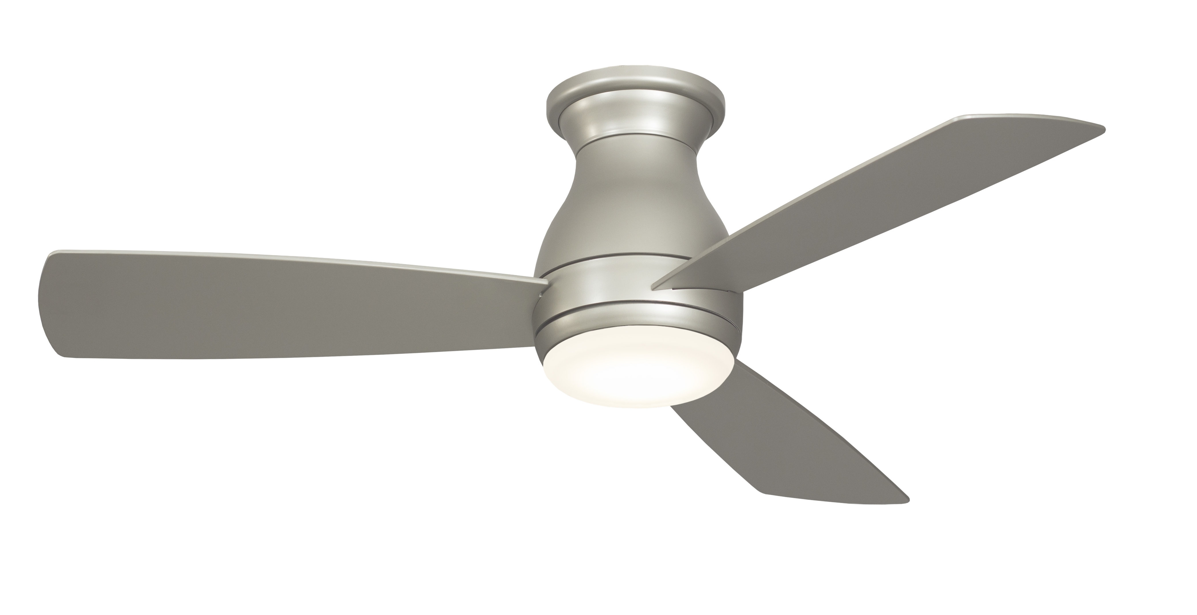 "High Output Outdoor Ceiling Fans Regarding Well Known Fanimation 44"" Hugh 3 Blade Led Ceiling Fan & Reviews (View 18 of 20)"