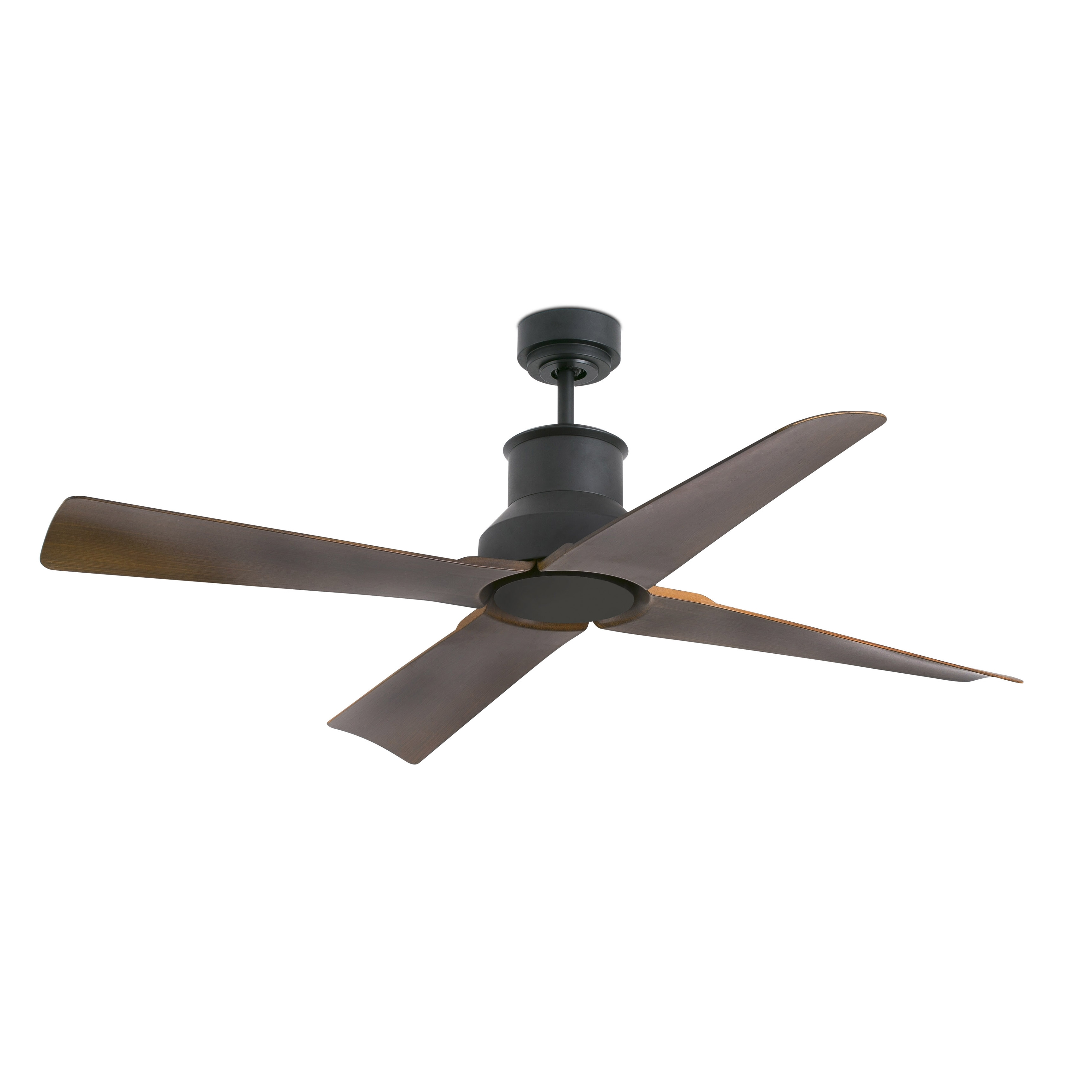 High Volume Outdoor Ceiling Fans For Newest Winche Brown Ceiling Fan With Dc Motor – Faro (Gallery 5 of 20)