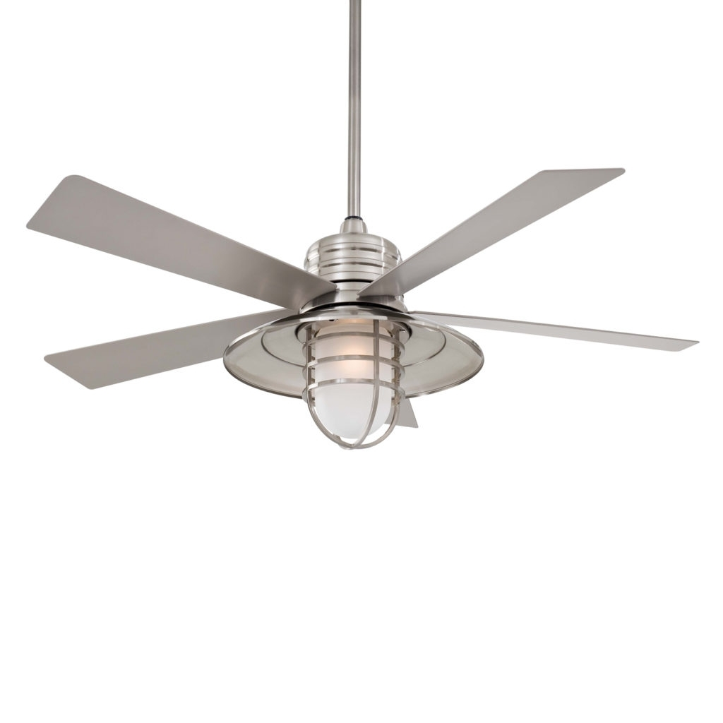 Home Decor: Appealing Coastal Ceiling Fans Combine With Fan Design Pertaining To Most Recent Outdoor Ceiling Fans For Canopy (View 5 of 20)
