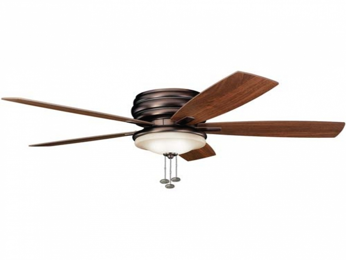Home Decor: Damp Rated Outdoor Ceiling Fans Flush Mount Regarding Inside Newest Outdoor Ceiling Fans With Lights Damp Rated (View 18 of 20)