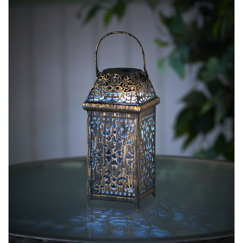 Home Decor: Fetching Solar Lanterns & Wilko Lantern Moroccan Metal Intended For Widely Used Moroccan Outdoor Lanterns (View 5 of 20)