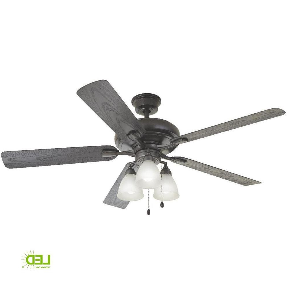 Home Decorators Collection Trentino Ii 60 In. Led Indoor/outdoor Pertaining To Current Heavy Duty Outdoor Ceiling Fans (Gallery 7 of 20)