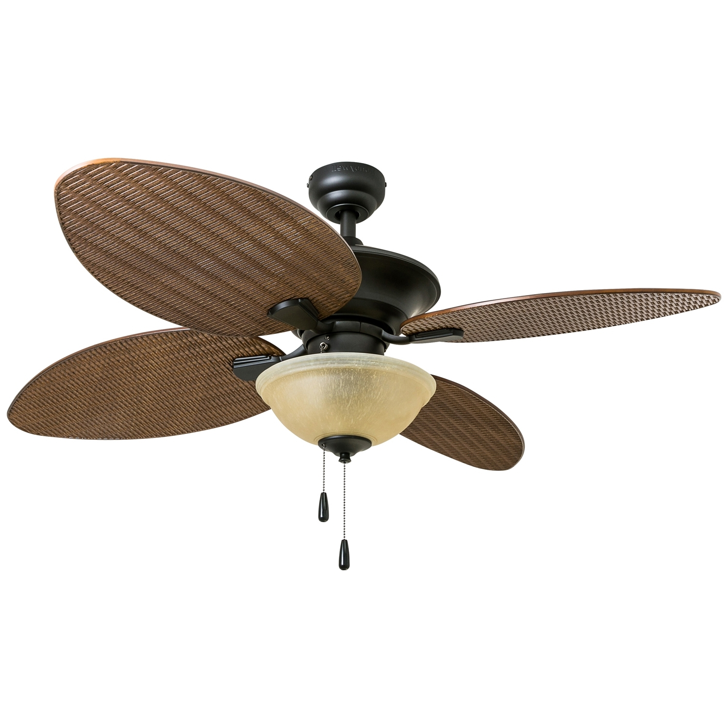 "Honeywell Sunset Key 52"" Bronze Outdoor Ceiling Fan – Walmart Inside Widely Used Outdoor Ceiling Fan With Brake (View 7 of 20)"