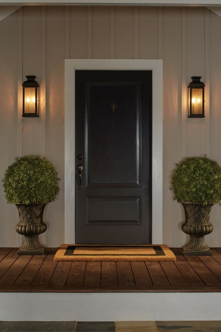 House Landscape Lighting Nice Inspireddistinctive Outdoor Within Most Popular Outdoor House Lanterns (Gallery 15 of 20)