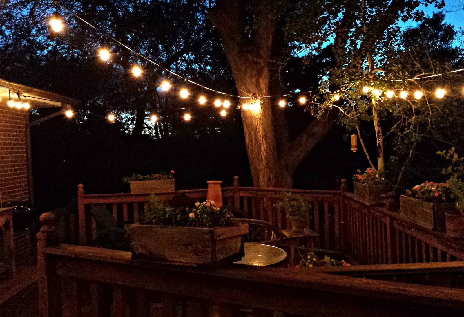 How To Hang Outdoor Lights On Deck – Outdoor Lighting Ideas For 2018 Outdoor Lanterns For Deck (View 7 of 20)