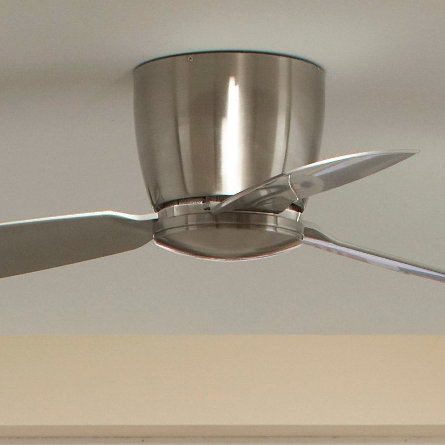 Hugger, Flush Mount & Low Profile Ceiling Fans For 8 Foot Ceilings With Regard To Preferred 36 Inch Outdoor Ceiling Fans With Light Flush Mount (View 17 of 20)