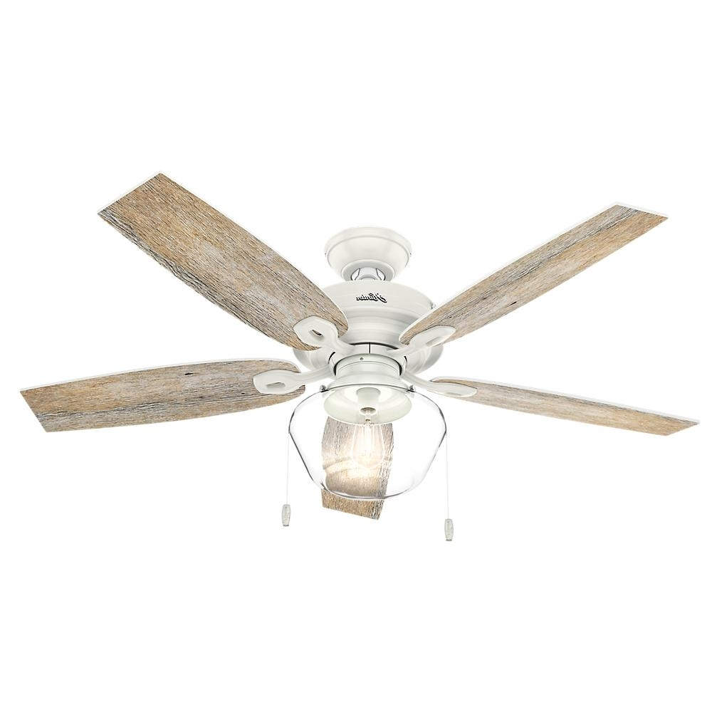 Hunter – Outdoor – Ceiling Fans – Lighting – The Home Depot With 2018 Outdoor Ceiling Fans Under $150 (Gallery 4 of 20)