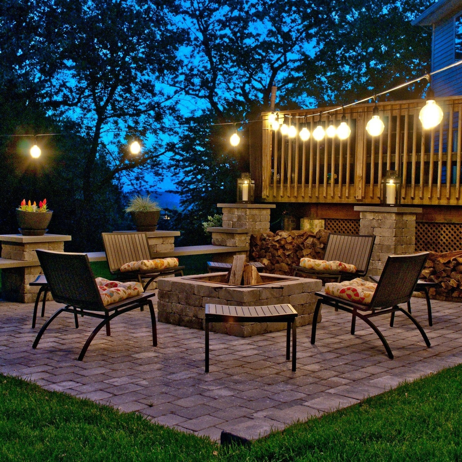 Ideas To Decorate Patio String Lights — Awesome House Lighting With Regard To Famous Outdoor Lawn Lanterns (View 10 of 20)