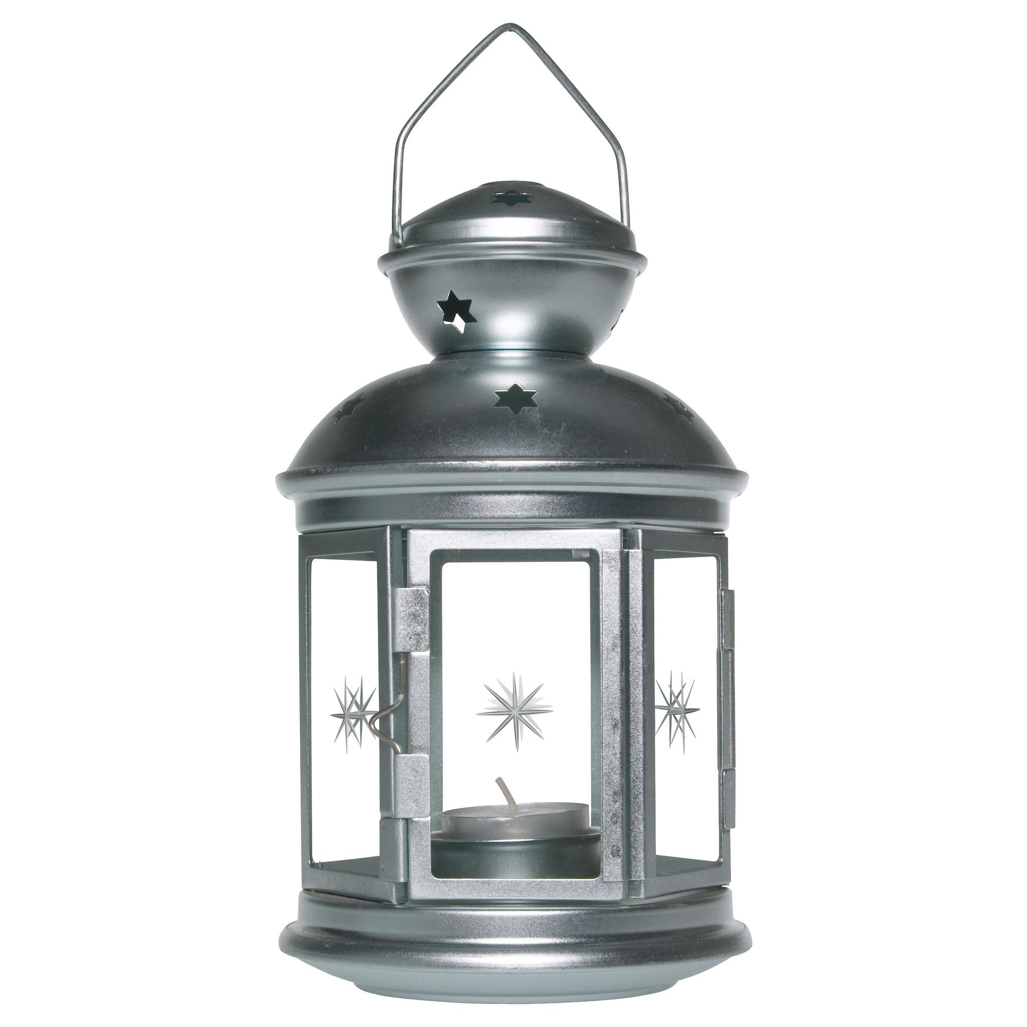 Ikea Outdoor Lanterns For Most Current Rotera Lantern For Tealight, Galvanized Indoor/outdoor Galvanized (View 8 of 20)