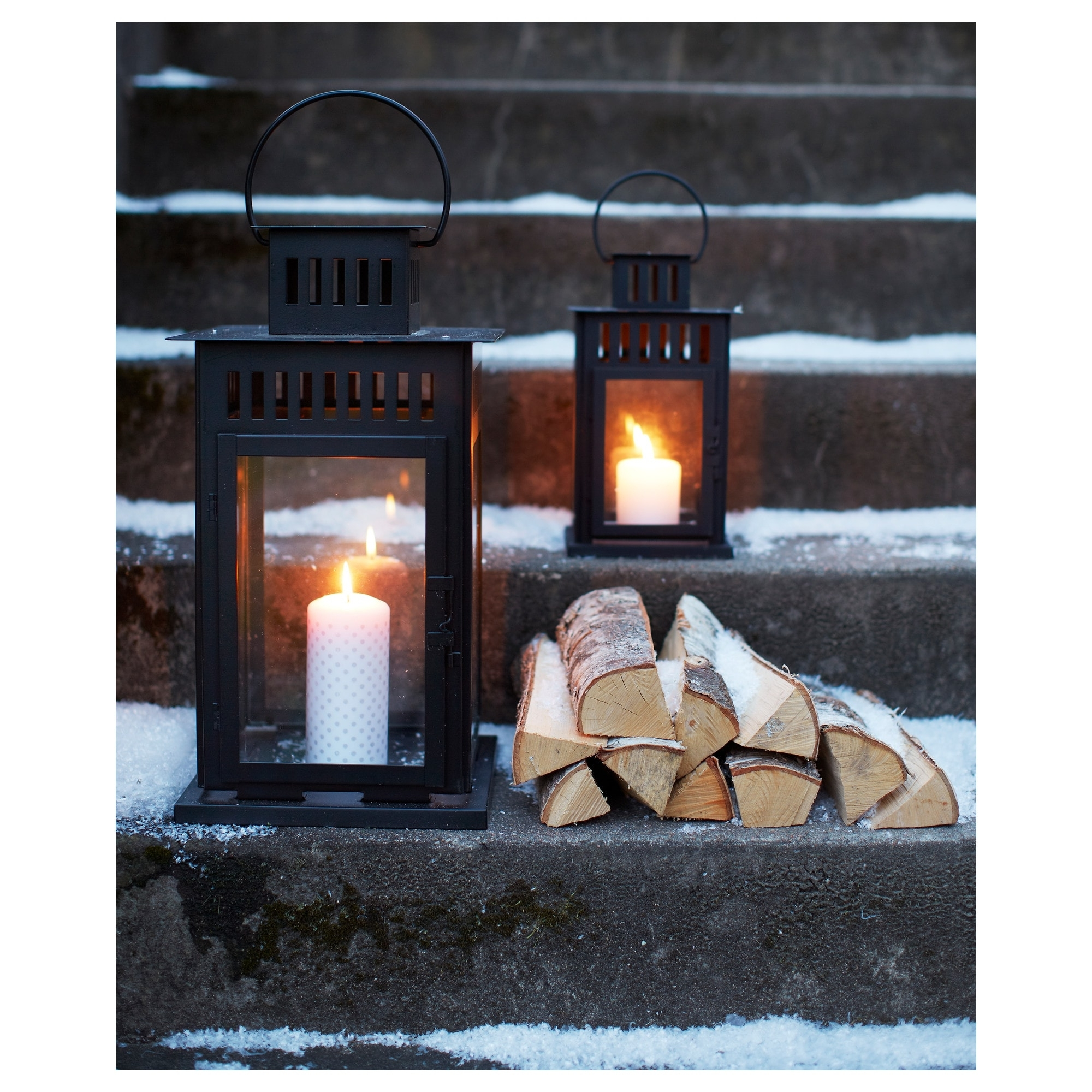 Ikea Outdoor Lanterns Inside Popular Borrby Lantern For Block Candle – Ikea (View 5 of 20)