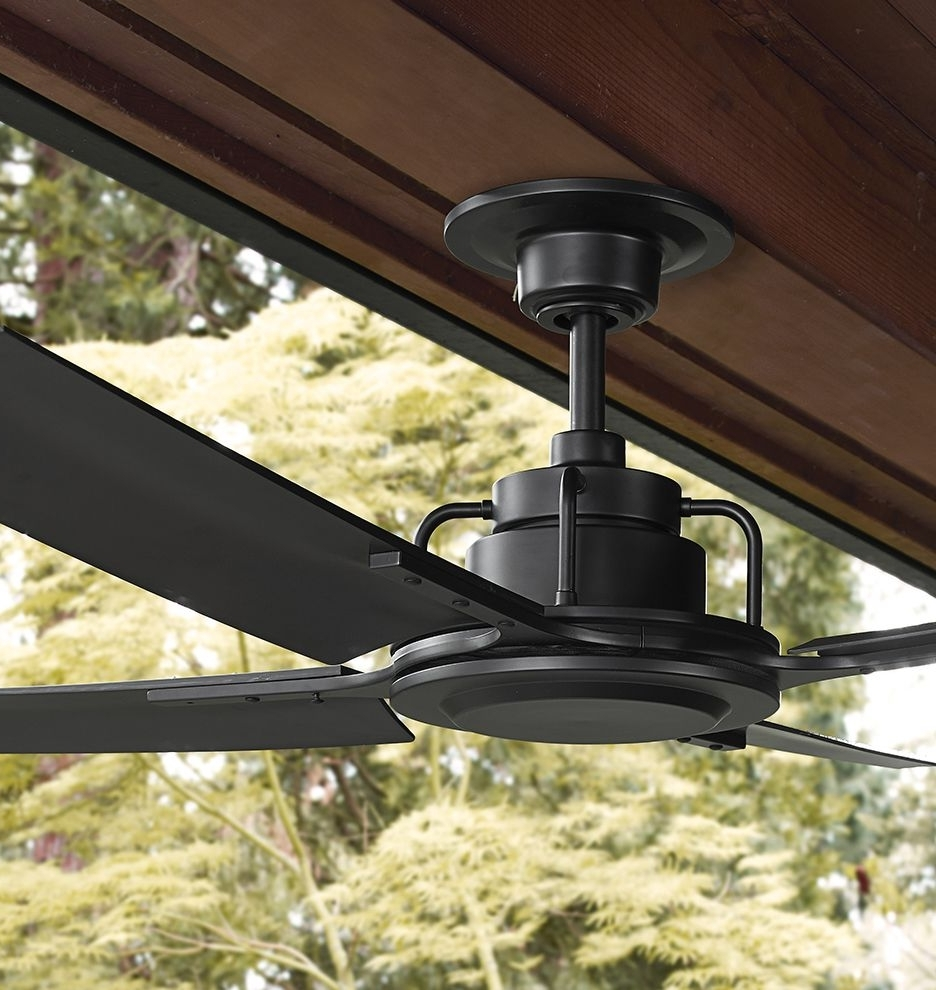 Industrial Outdoor Ceiling Fans For Favorite Rejuvenation Peregrine Industrial Ceiling Fan (View 6 of 20)