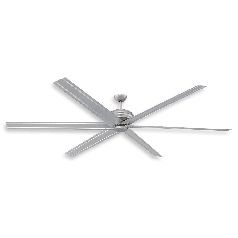 Industrial Outdoor Ceiling Fans With Light Throughout Recent 96 Inch Colossus Ceiling Fancraftmade – Commercial Or (Gallery 5 of 20)