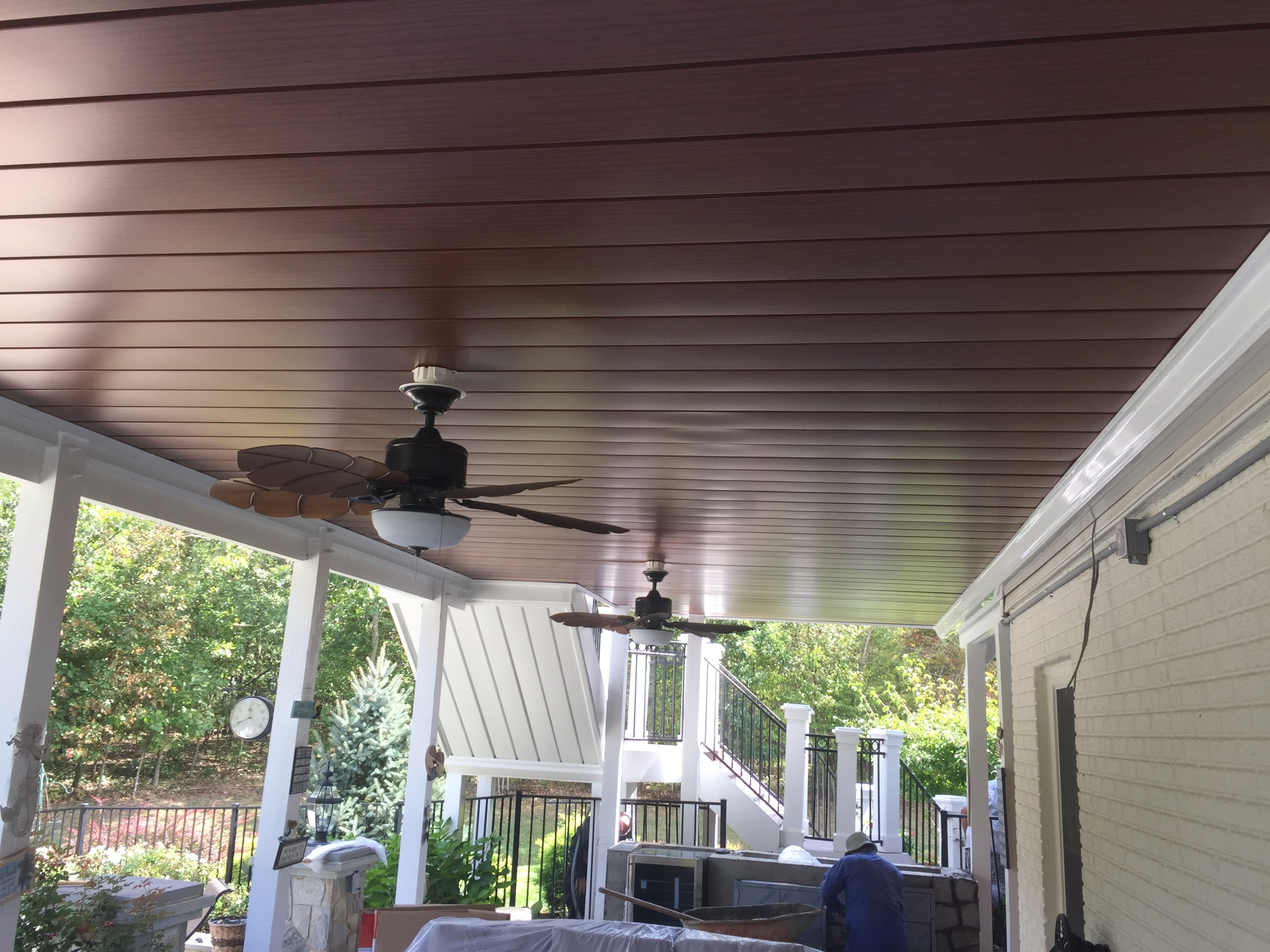 Install Outdoor Ceiling Fan Under Deck Www, Install Ceiling Fan Regarding Preferred Outdoor Ceiling Fans For Decks (Gallery 2 of 20)
