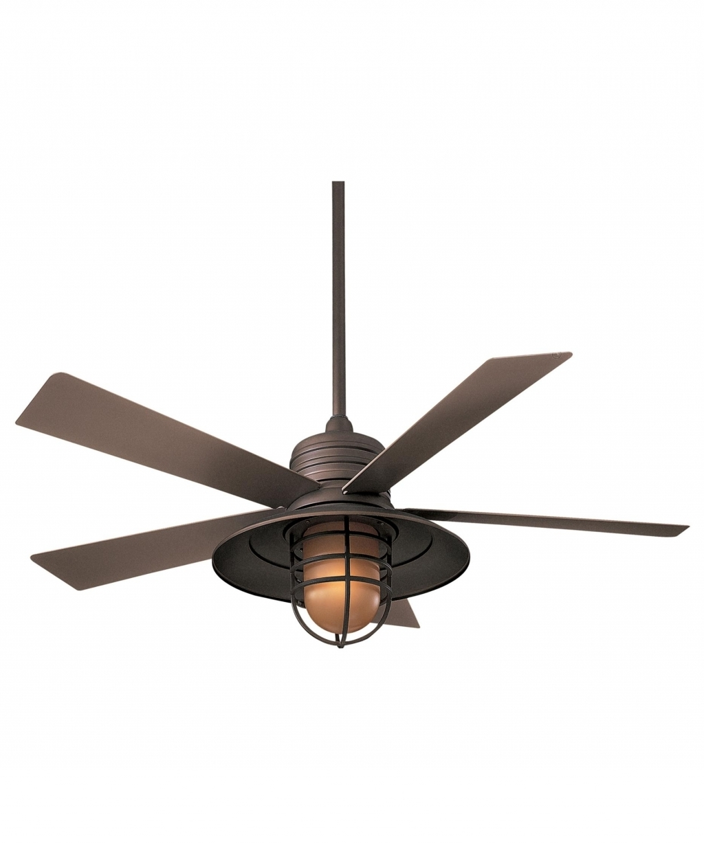 Interior Design: Outside Ceiling Fans Elegant Tropical Ceiling Fans With Regard To Current Outdoor Ceiling Fans For Windy Areas (View 7 of 20)
