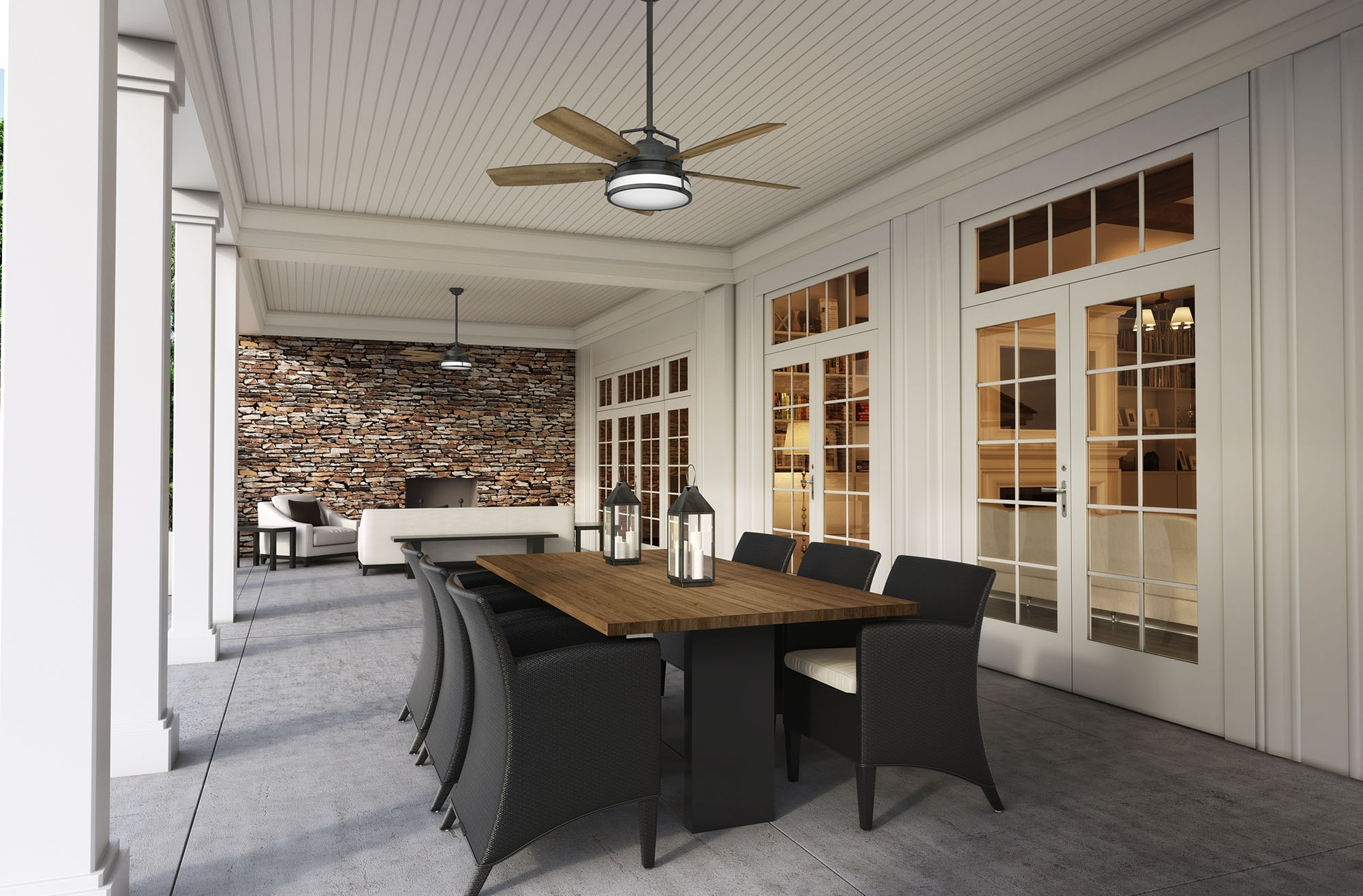Joanna Gaines Outdoor Ceiling Fans Pertaining To Popular Caneel Bay Featured In Hgtv's Fixer Upper – Casablanca Fan Company Blog (Gallery 4 of 20)