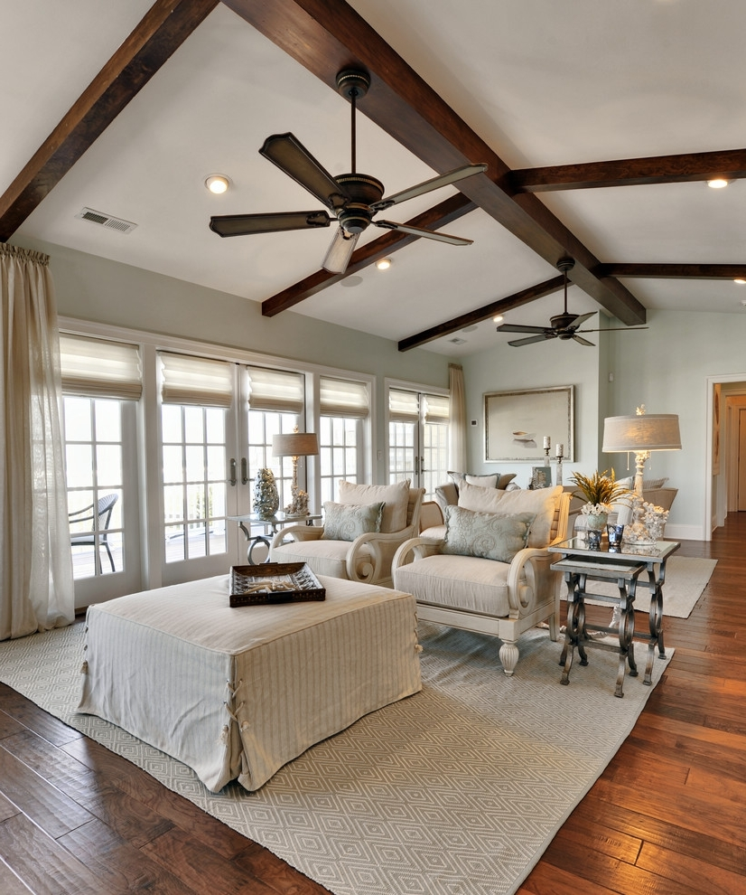 Joanna Gaines Outdoor Ceiling Fans With Well Known Ceiling Fan: Unique Farmhouse Ceiling Fan Design Farmhouse Ceiling (View 11 of 20)