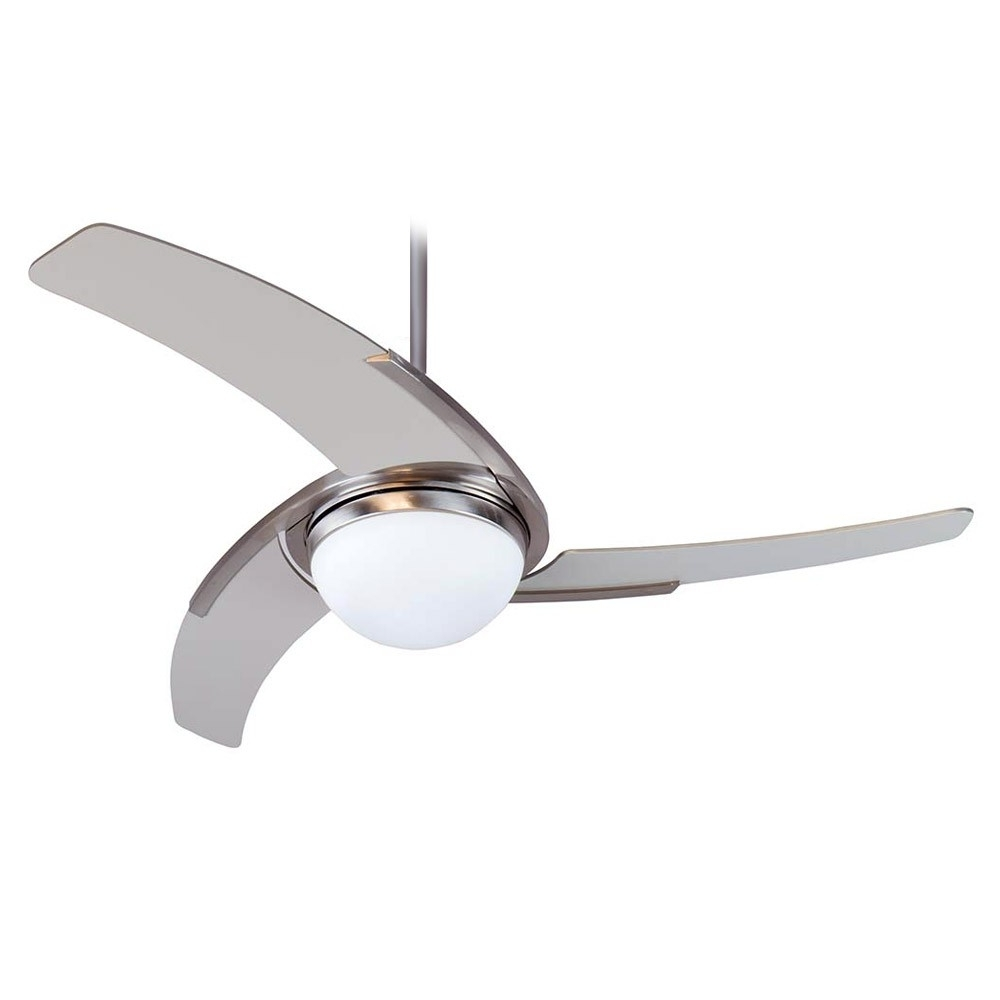 Juna Ceiling Fancraftmade Ju54Ss3 Stainless Steel Finish With With Well Known Stainless Steel Outdoor Ceiling Fans (Gallery 14 of 20)