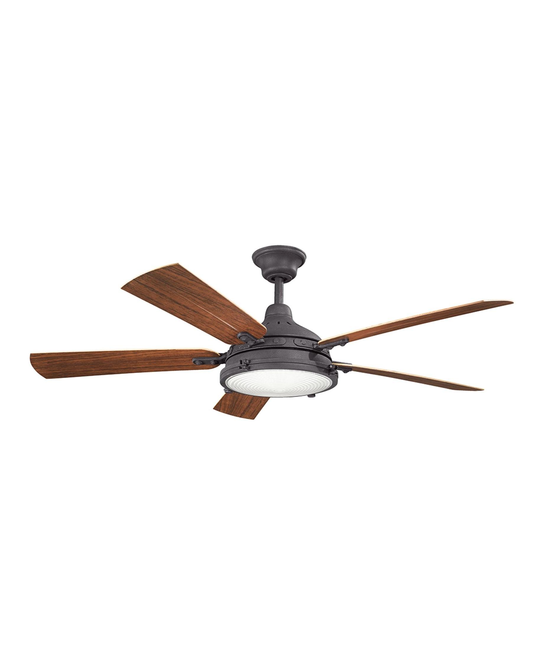 Kichler 310117 Hatteras Bay 60 Inch 5 Blade Ceiling Fan (View 8 of 20)