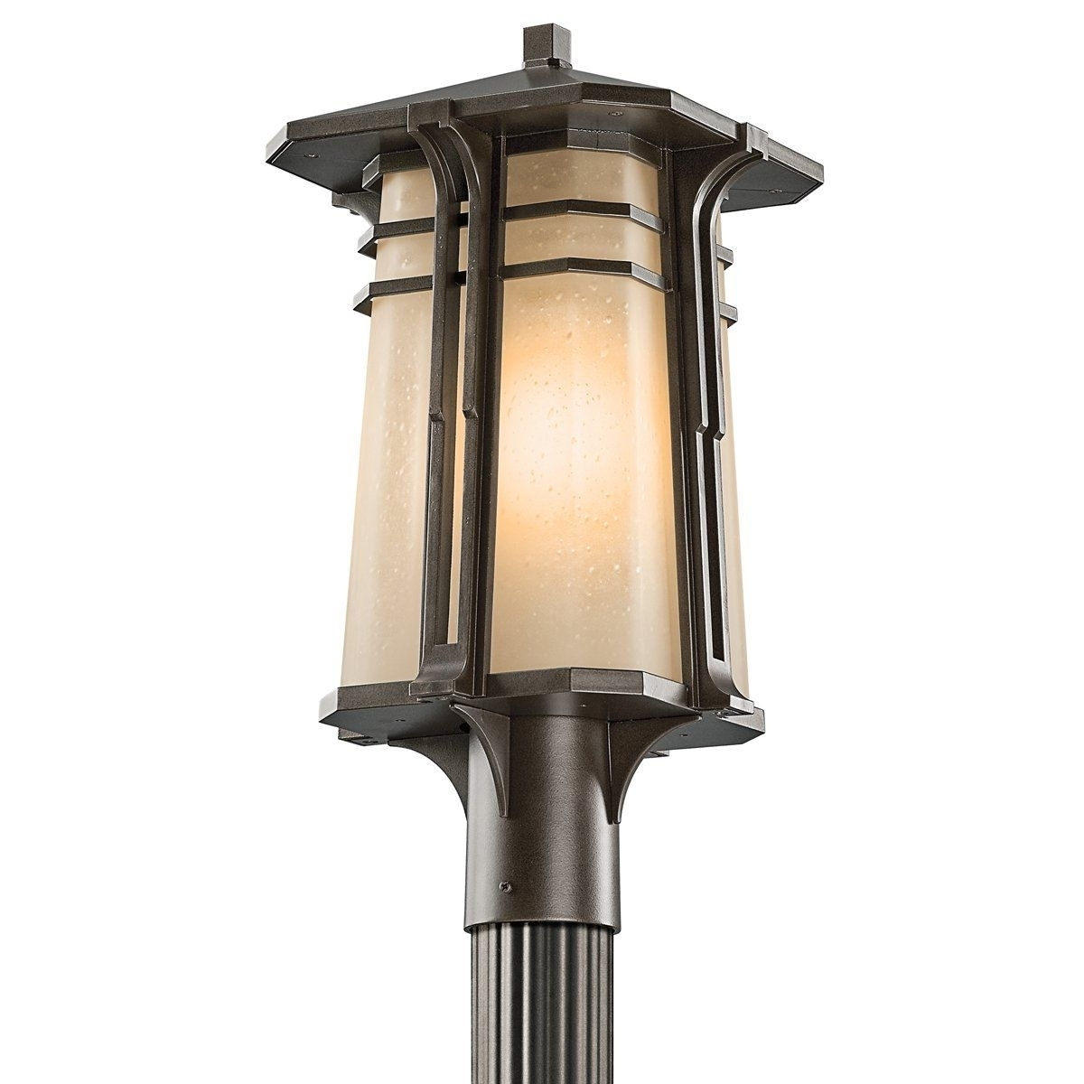 Kichler Lighting 49178oz North Creek 20 Inch High Light Outdoor Post For Preferred Kichler Outdoor Lanterns (Gallery 20 of 20)