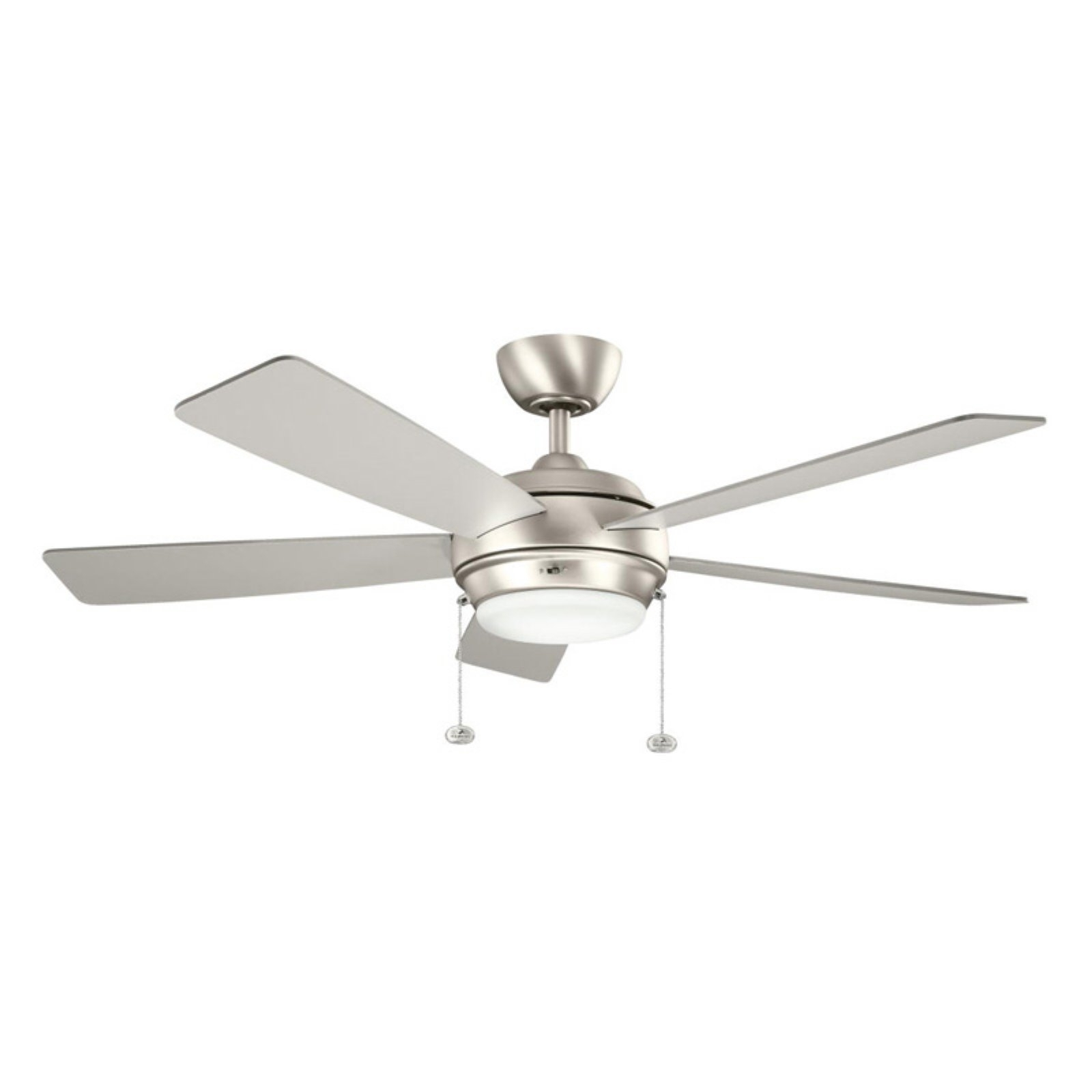 Kichler Outdoor Ceiling Fans With Lights Inside Fashionable Kichler Starkk 52 In. Indoor / Outdoor Ceiling Fan – Walmart (Gallery 10 of 20)