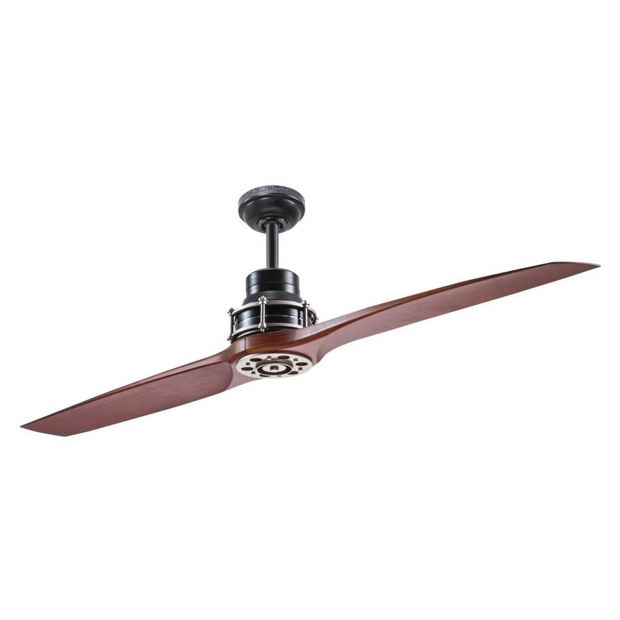 Kichler Outdoor Ceiling Fans With Lights Regarding Preferred Shop Ceiling Fans At Lowes (Gallery 2 of 20)