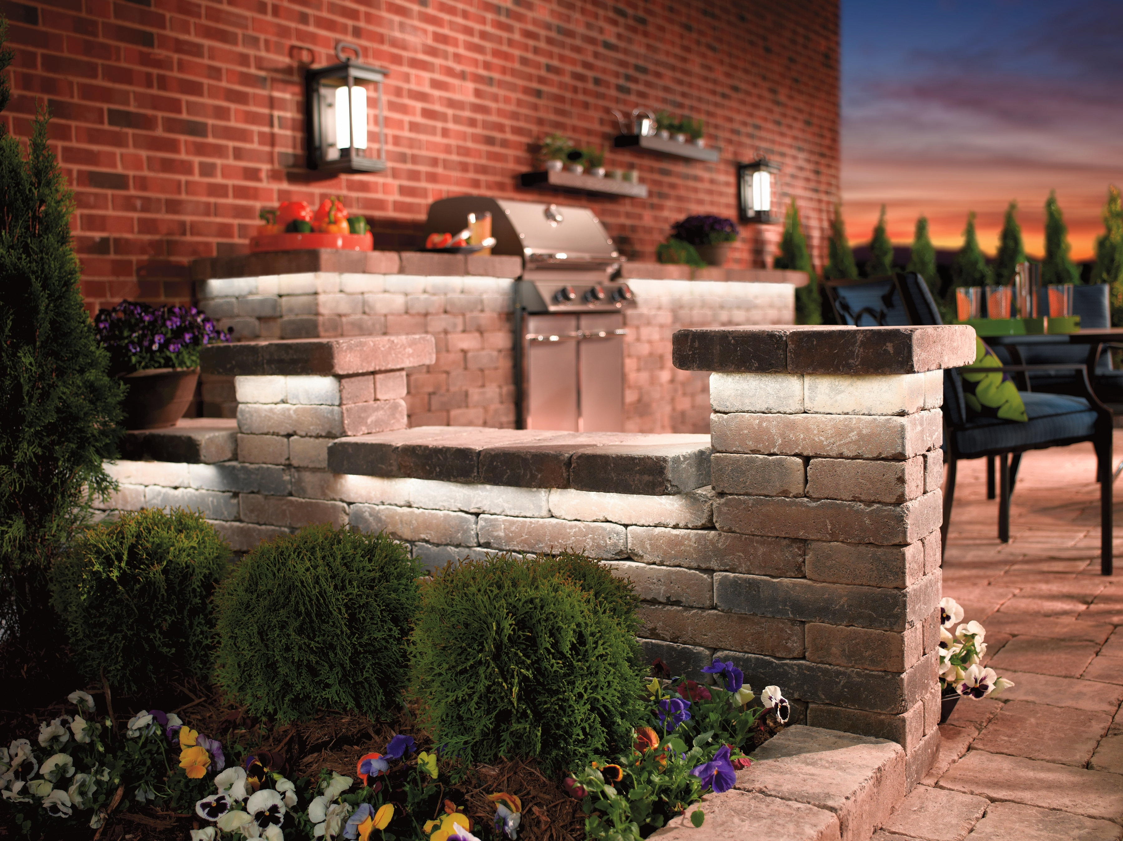 Kichler Outdoor Lanterns In Widely Used Lighting: Kichler Outdoor Lighting With Landscape Flood Lights And (View 12 of 20)