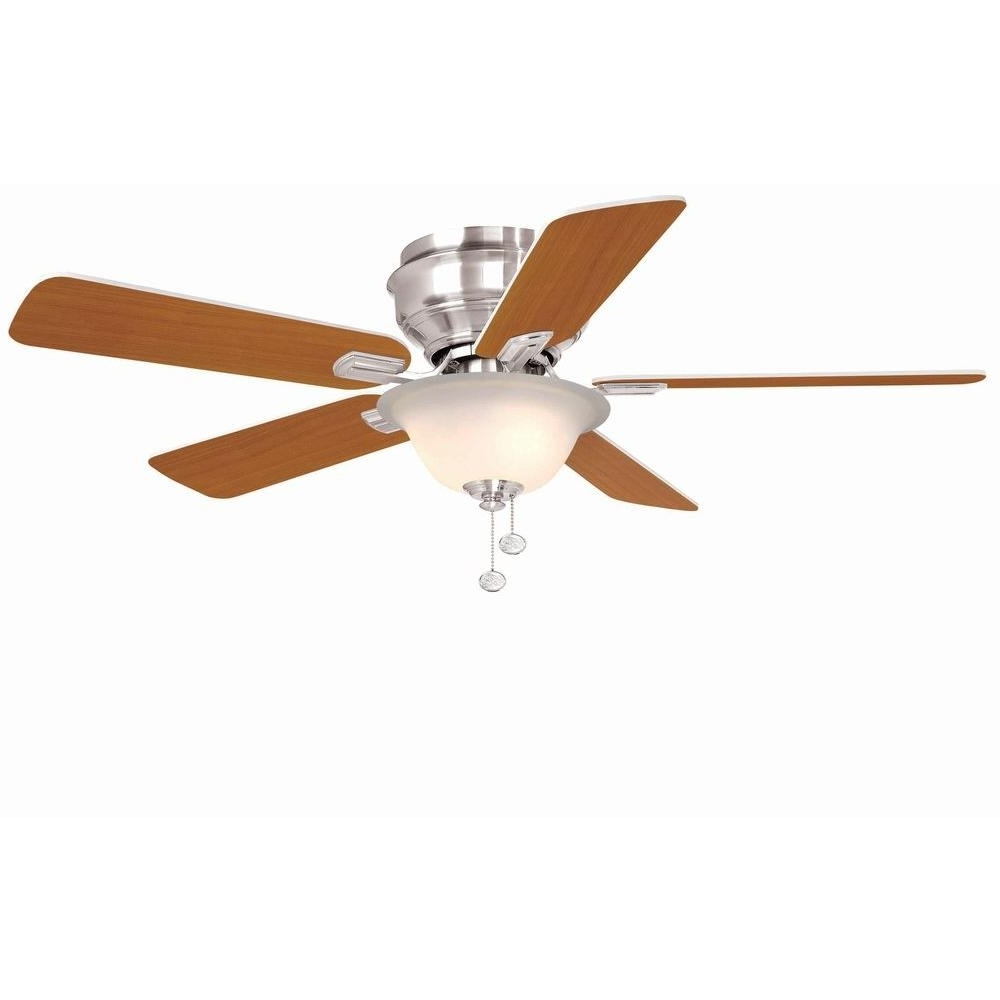 Kmart Outdoor Ceiling Fans Throughout Latest Hampton Bay Hawkins 44 In (View 10 of 20)
