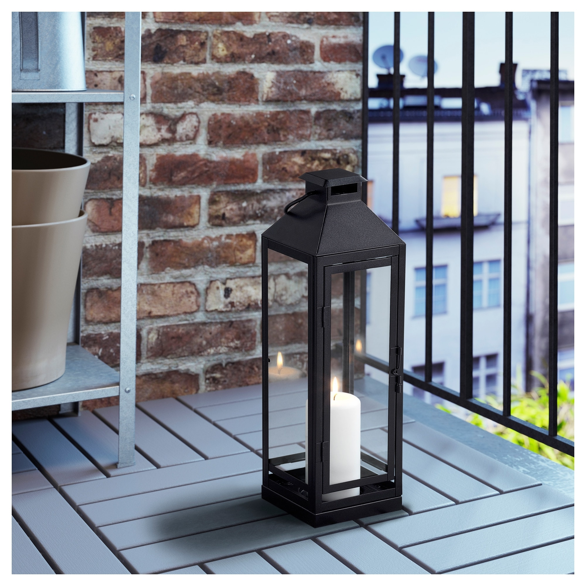 Lagrad Lantern For Candle, Indoor/outdoor – Ikea Throughout 2019 Ikea Outdoor Lanterns (View 13 of 20)