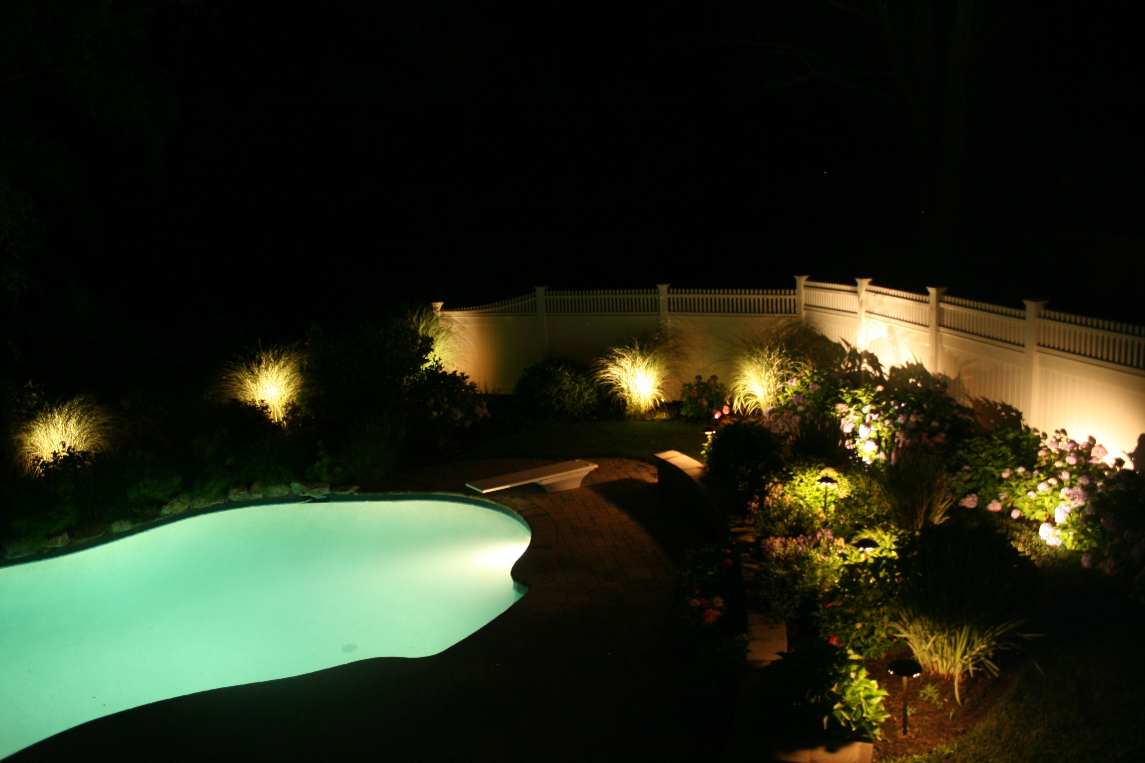 Landscaping With Regard To Outdoor Lanterns For Poolside (View 6 of 20)