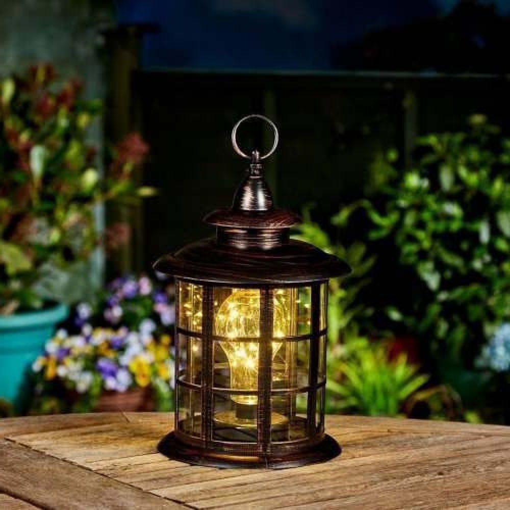 Large Outdoor Bronze Battery Lighthouse Lantern Pertaining To Popular Outdoor Bronze Lanterns (View 6 of 20)