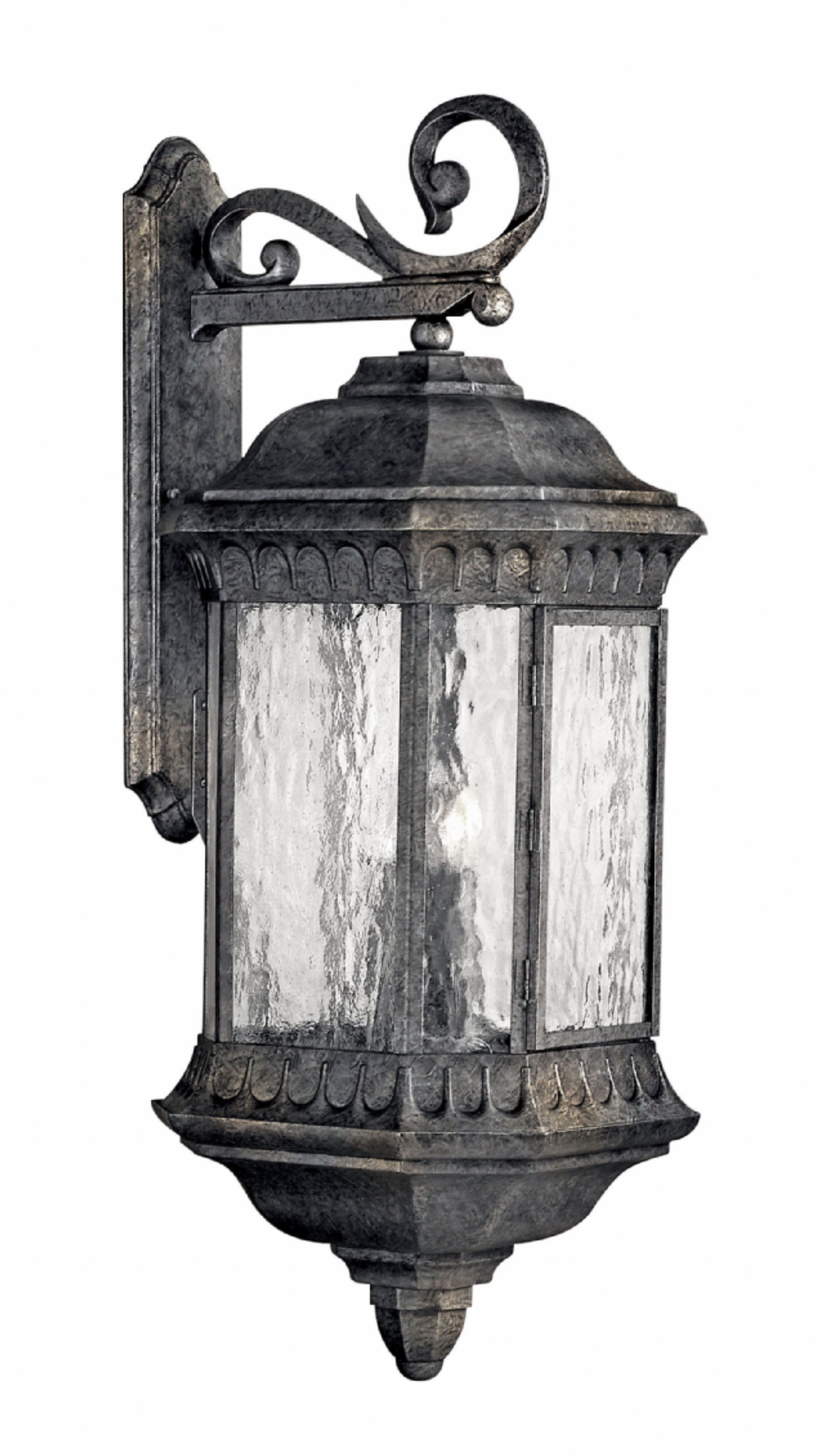 Large Outdoor Lanterns Throughout Well Liked Black Granite Regal > Exterior Wall Mount (View 11 of 20)